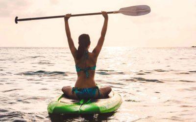 Et si vous vous mettiez au Yoga Paddle ?