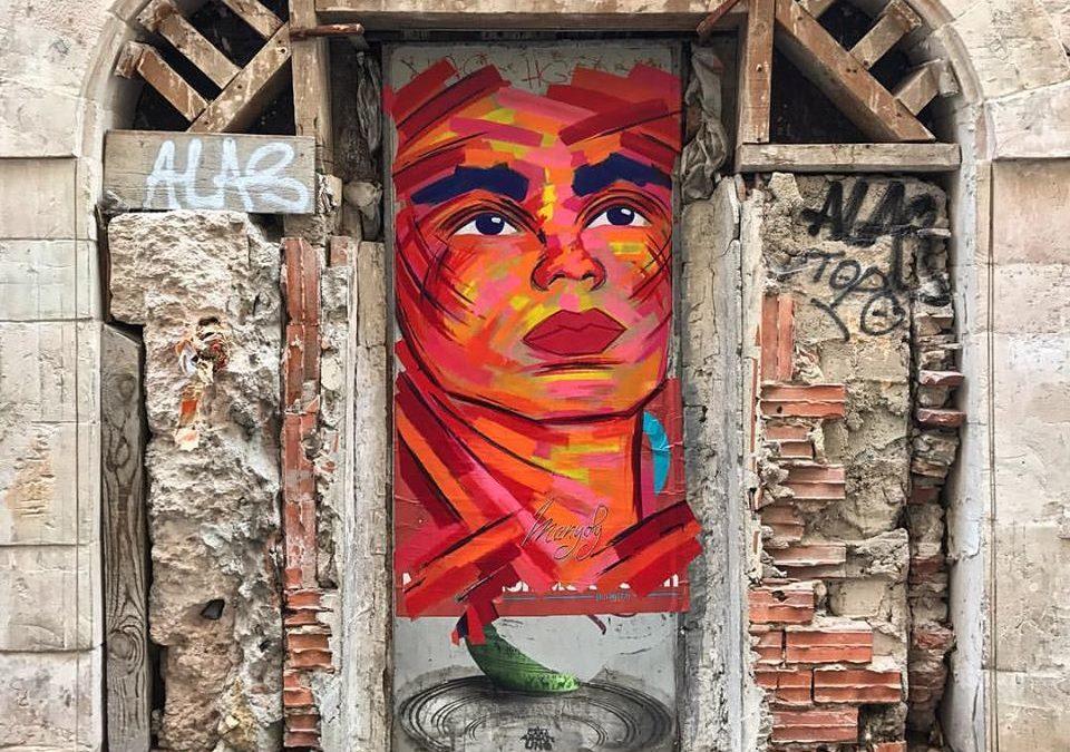 Manyoly artiste street art Marseille