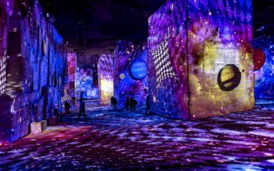 L'art comme un roc aux Carrières de Lumières des Baux-de-Provence