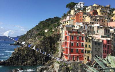 Les Cinque Terre : phares multicolores de la riviera italienne