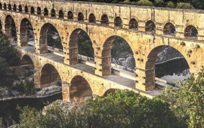 Autour du Pont du Gard à vélo
