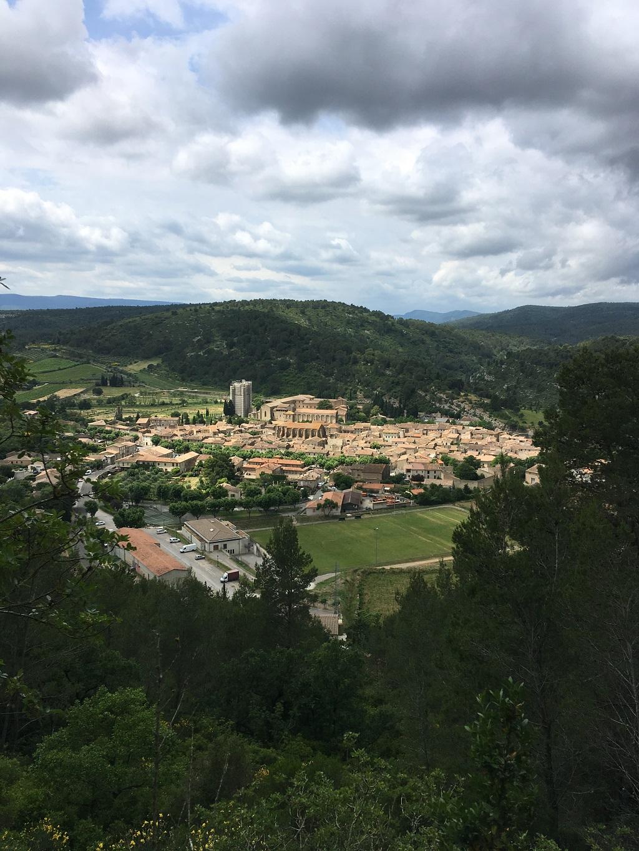 Lagrasse village aude