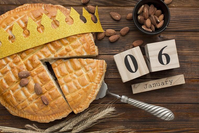 galette des rois épiphanie Provence frangipane
