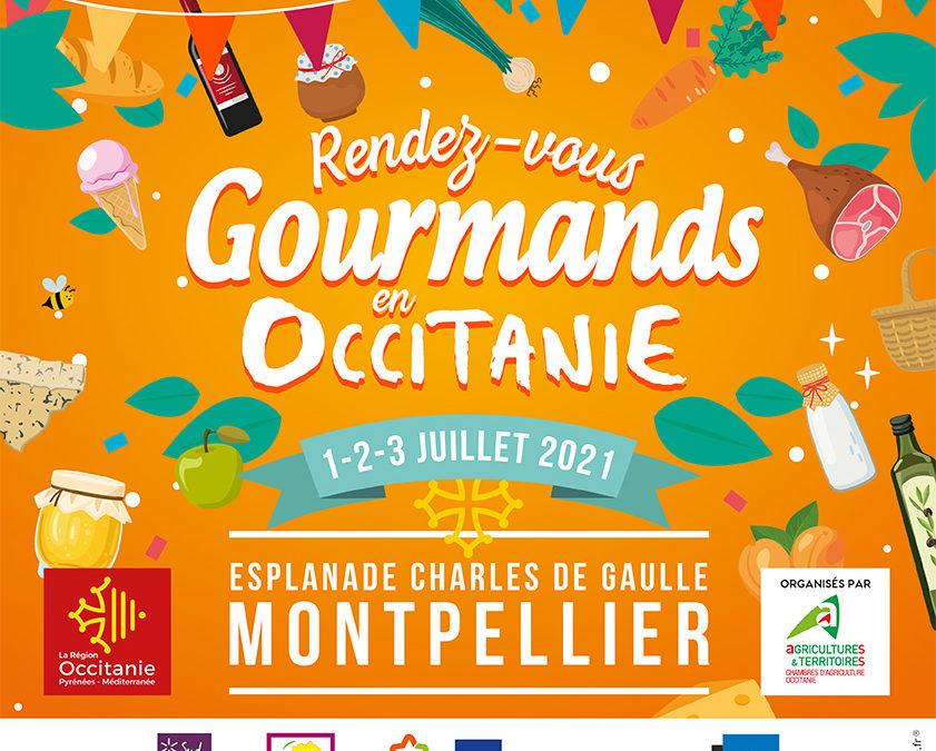 Rendez-vous gourmands occitanie montpellier marché producteurs