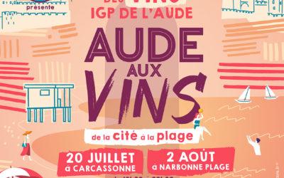 Aude aux Vins : découverte des territoires viticoles par la dégustation !
